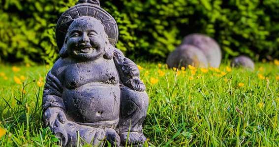 Budai El Buda Sonriente