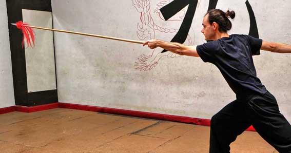 Técnica de lanza de Kung Fu Choy Li Fut