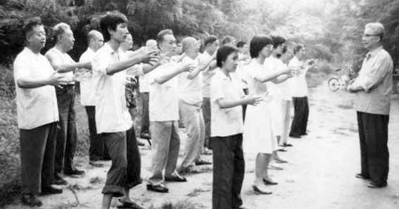 Zhan Zhuang Chi Kung, ejercicio chino para la salud